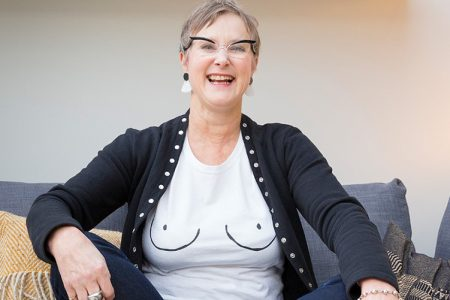 Penny Rutterford: when cancer treatment meant I lost my hair, statement glasses helped me find my style