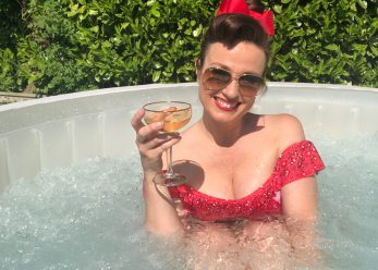 Catherine Huntley Hot Tub