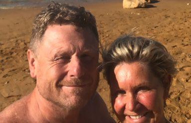 Colin and I Ramla Beach