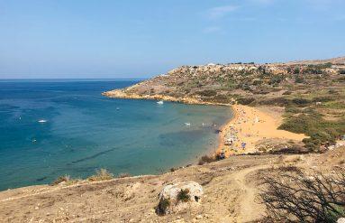 Ramla Bay on Gozo
