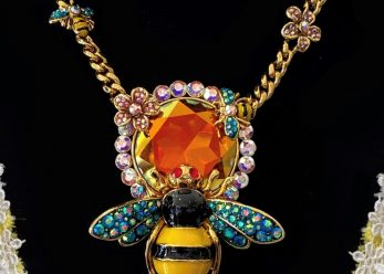 butler and wilson bee necklace